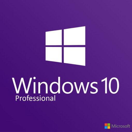 מערכת הפעלה Windows 10 Professional OEM משלוח דיגיטלי מהיר ומאובטח