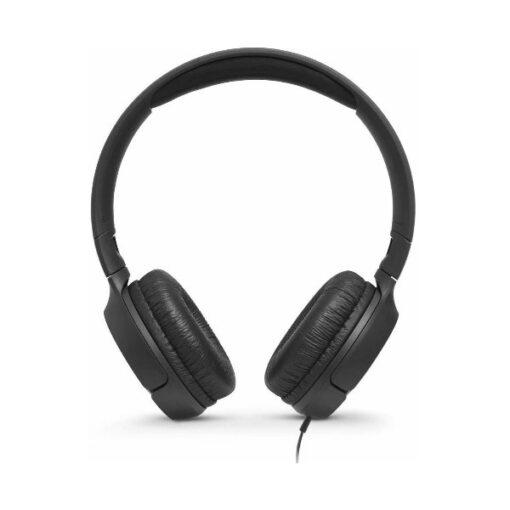 אוזניות JBL TUNE T500 קשת חוטיות עם מיקרופון מובנה