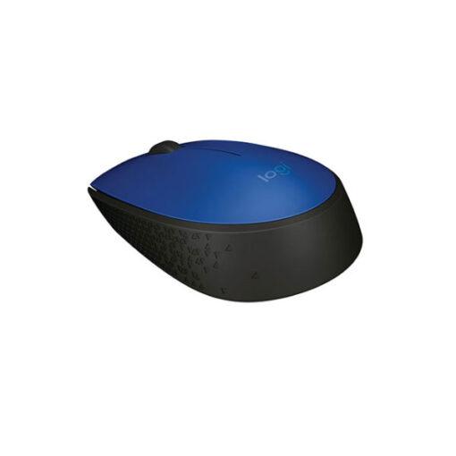 עכבר אלחוטי LogiTech דגם M171 בצבע כחול