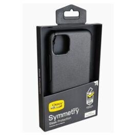 כיסוי שחור OtterBox Symmetry לאייפון 12 פרו מקס - הגנה קשיחה ודקה