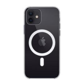כיסוי לאייפון 12 ואייפון 12 פרו MagSafe בצבע שקוף - מקורי אפל ואחריות יבואן רשמי סי דאטה