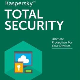 משלוח דיגיטלי אנטי וירוס Kaspersky Total Security 2020 Global מחשב אחד למשך שנה