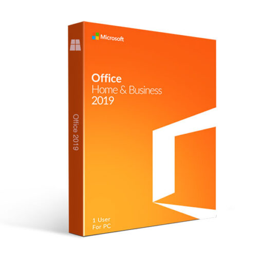 אופיס Microsoft Office Home & Business 2019 לבית ולעסק למחשבי ווינדוס 10 תומך עברית
