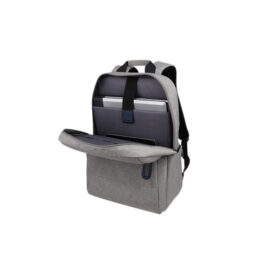 תיק גב מודרני המתאים למחשב נייד עד 15 אינץ NB-8065 מבית MIRACASE בצבע אפור