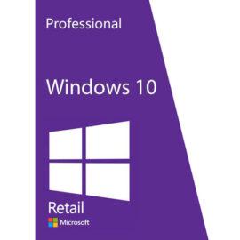 מערכת הפעלה Windows 10 Professional Retail משלוח דיגיטלי מהיר ומאובטח