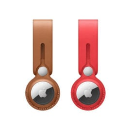 רצועה AirTag Leather Loop) AirTag) מעור לחיבור חפצים ל-AirTag בקלות ואלגנטיות