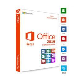 משלוח דיגיטלי חבילת תוכנות אופיס Microsoft Office 2019 Pro Plus Retail ניתן להעברה