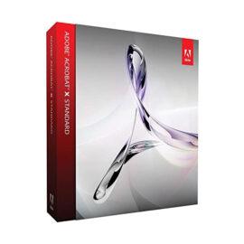 משלוח דיגיטלי תוכנת Adobe Acrobat X Standard למחשבי PC
