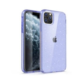 כיסוי אייפון 13 Grip Case Crystal Glitter שקוף נצנצים בצבעים לבחירה